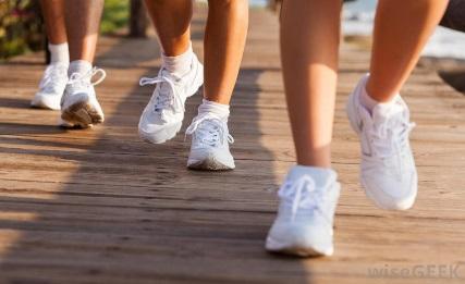 تست کفشهای استفاده شده