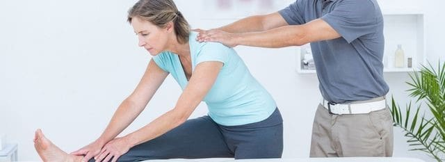 فیزیوتراپی برای درمان کمر درد