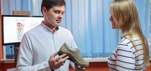 ویژگیهای کفشهای طبی