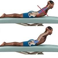 Lumbar arch exercise-min